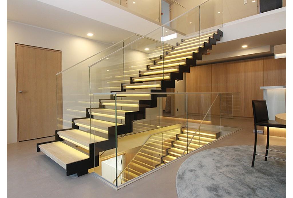 Светодиодное освещение лестницы